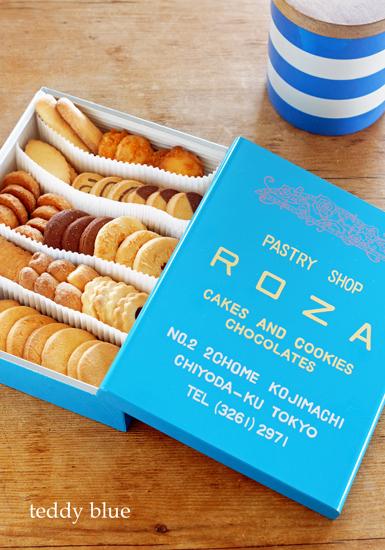 Roza cookies  ローザー洋菓子店のクッキー_e0253364_1022948.jpg