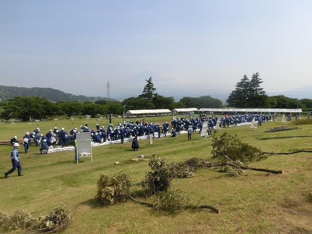 昨年9月の鬼怒川水害を思い出す中での28年度富士市水防訓練_f0141310_75801.jpg