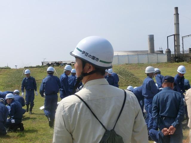 昨年9月の鬼怒川水害を思い出す中での28年度富士市水防訓練_f0141310_7591439.jpg