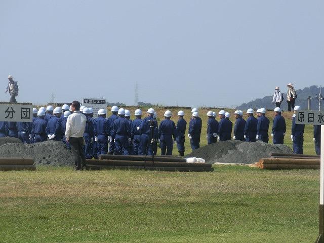 昨年9月の鬼怒川水害を思い出す中での28年度富士市水防訓練_f0141310_804598.jpg