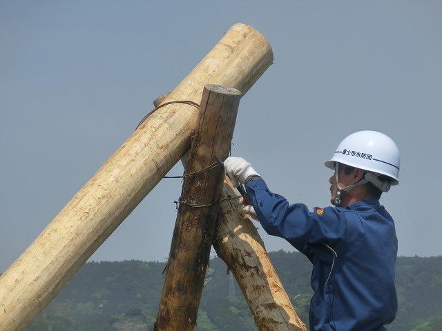 昨年9月の鬼怒川水害を思い出す中での28年度富士市水防訓練_f0141310_822584.jpg