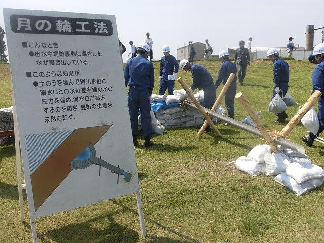 昨年9月の鬼怒川水害を思い出す中での28年度富士市水防訓練_f0141310_824879.jpg