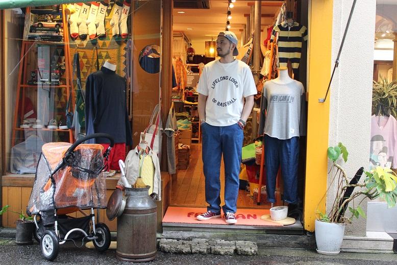 """Jackman 別注 \""""Beimen Tenjiku シシュウ T-Shirt\"""" ご紹介_f0191324_9225118.jpg"""