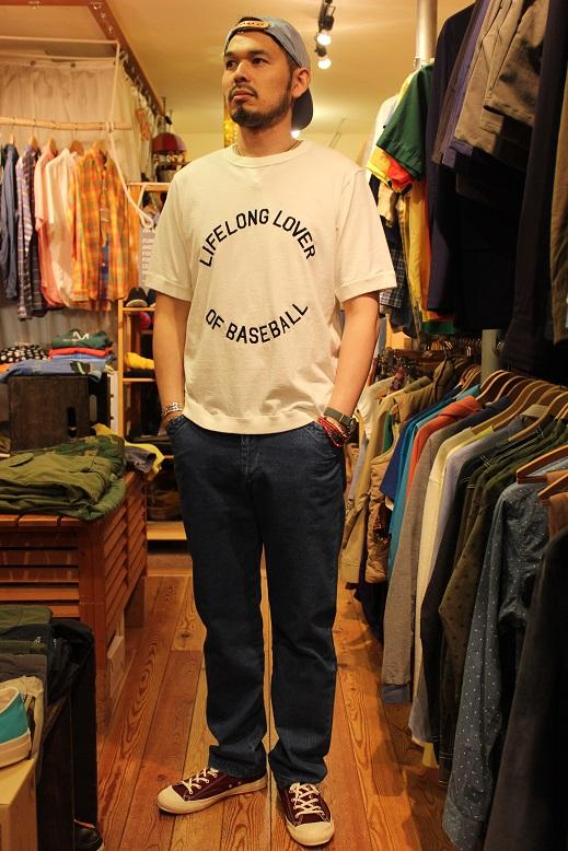 """Jackman 別注 \""""Beimen Tenjiku シシュウ T-Shirt\"""" ご紹介_f0191324_923408.jpg"""