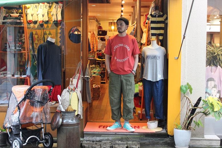 """Jackman 別注 \""""Beimen Tenjiku シシュウ T-Shirt\"""" ご紹介_f0191324_935043.jpg"""