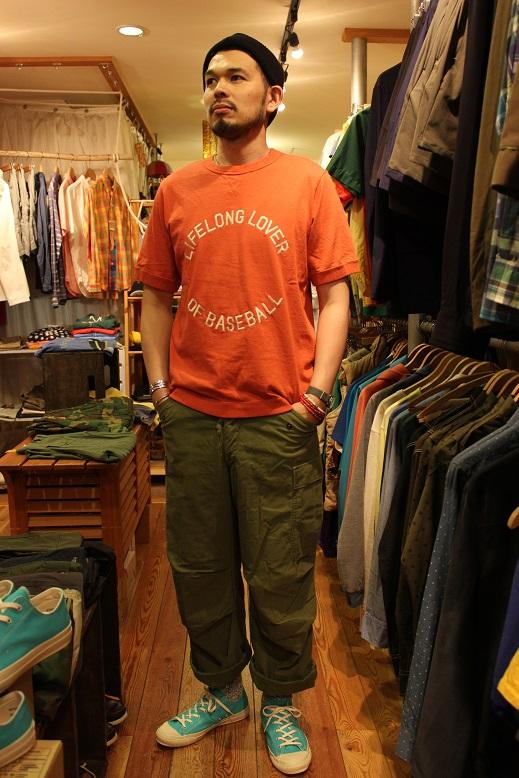 """Jackman 別注 \""""Beimen Tenjiku シシュウ T-Shirt\"""" ご紹介_f0191324_9354642.jpg"""