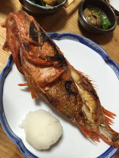 きちじのスープ #宮城 #気仙沼 #魚 #吉次 #喜知次 #キンキ #焼き魚 ...