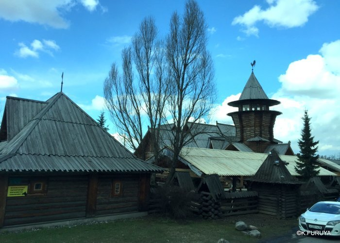 """ロシアの旅 4  レストラン""""ポトヴォーリエ""""_a0092659_20521007.jpg"""