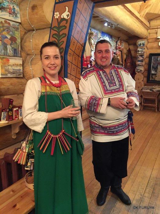 """ロシアの旅 4  レストラン""""ポトヴォーリエ""""_a0092659_22363017.jpg"""