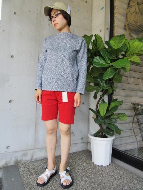 LONG TEE × SHORT PANTS 。。。初夏STYLE!★!_d0152280_100293.jpg