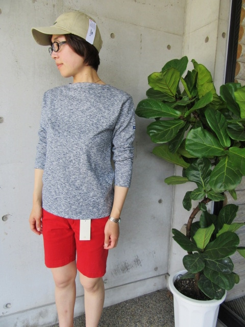 LONG TEE × SHORT PANTS 。。。初夏STYLE!★!_d0152280_1005549.jpg