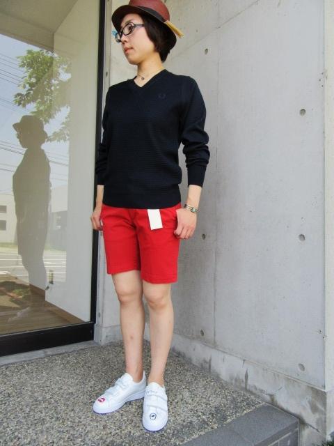 LONG TEE × SHORT PANTS 。。。初夏STYLE!★!_d0152280_1035199.jpg