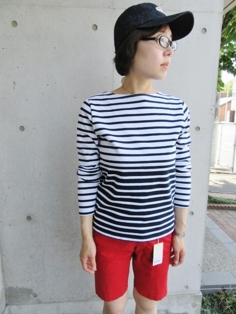 LONG TEE × SHORT PANTS 。。。初夏STYLE!★!_d0152280_9523754.jpg