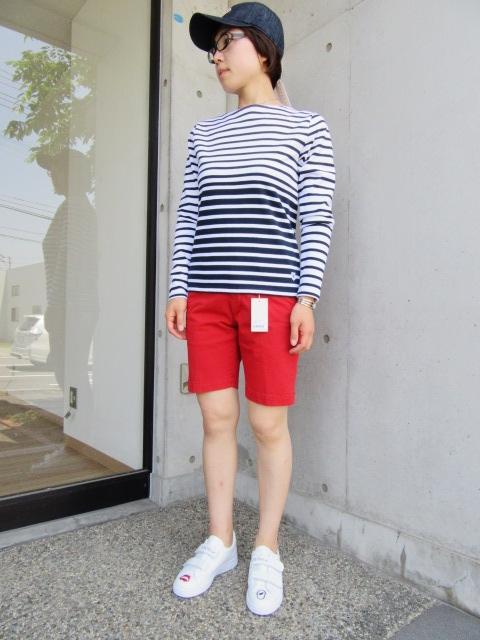 LONG TEE × SHORT PANTS 。。。初夏STYLE!★!_d0152280_952731.jpg
