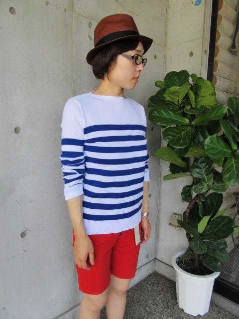 LONG TEE × SHORT PANTS 。。。初夏STYLE!★!_d0152280_9553011.jpg