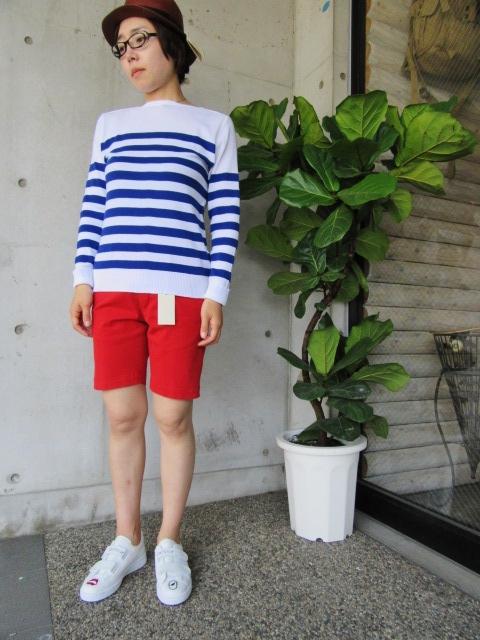 LONG TEE × SHORT PANTS 。。。初夏STYLE!★!_d0152280_955861.jpg