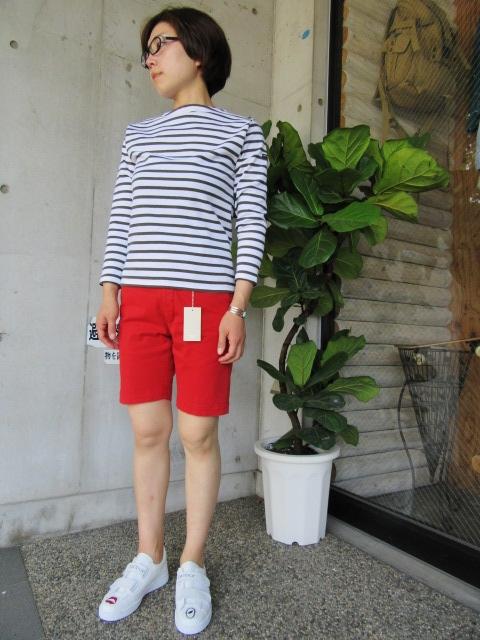 LONG TEE × SHORT PANTS 。。。初夏STYLE!★!_d0152280_9562624.jpg