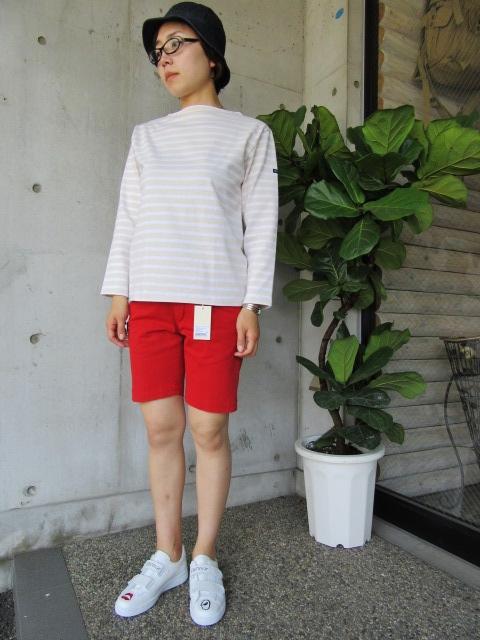 LONG TEE × SHORT PANTS 。。。初夏STYLE!★!_d0152280_9575589.jpg
