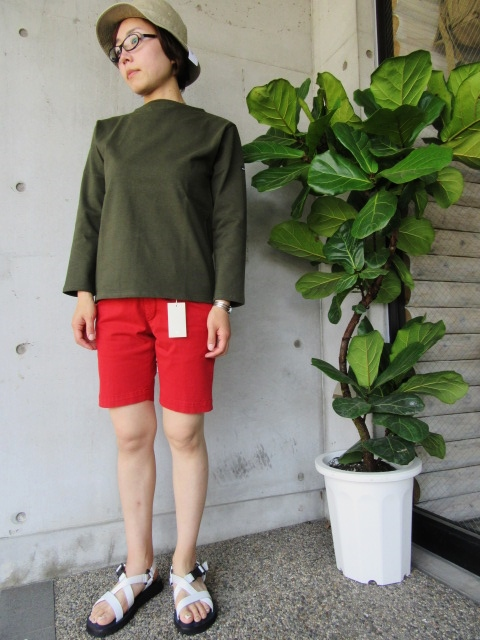 LONG TEE × SHORT PANTS 。。。初夏STYLE!★!_d0152280_959167.jpg