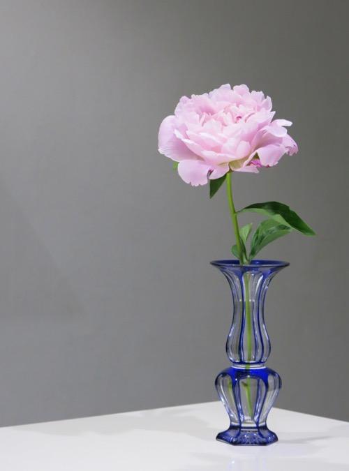 Baccarat Blue Vase_c0108595_23461094.jpg