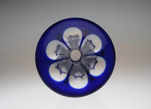 Baccarat Blue Vase_c0108595_2346381.jpg