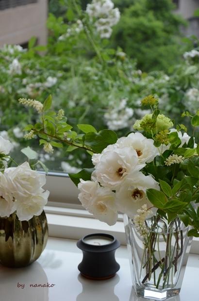 バラを愛でながらのホームランチ_c0364500_21061566.jpg
