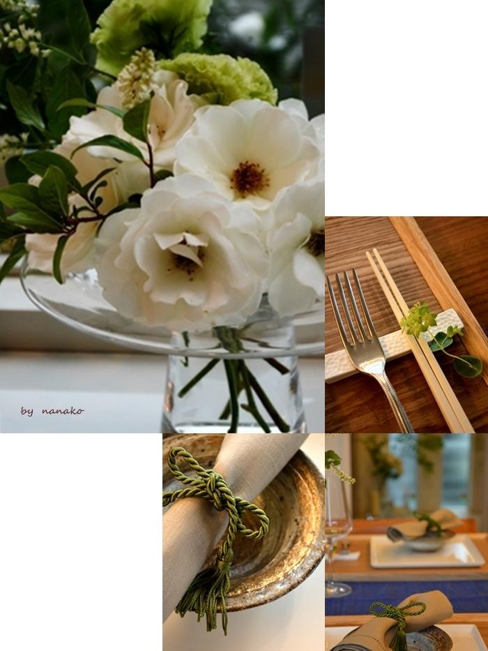 バラを愛でながらのホームランチ_c0364500_21161527.jpg