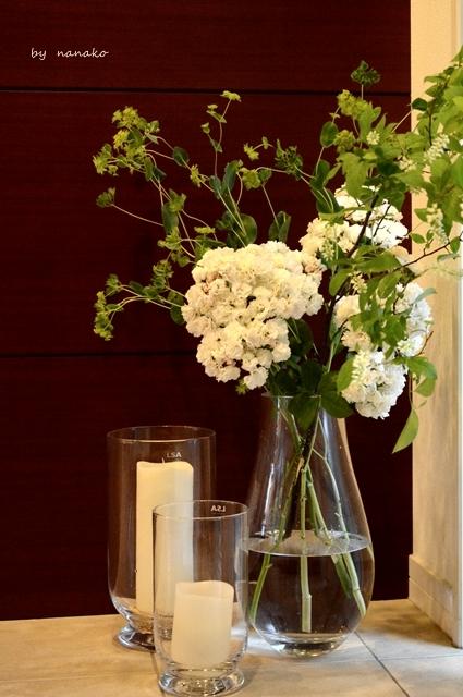 バラを愛でながらのホームランチ_c0364500_21344414.jpg