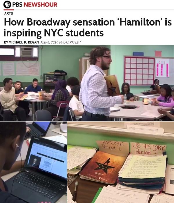 ブロードウェイの驚異『ハミルトン』がどのようにNY市の学生をインスパイアしてるのか_b0007805_450574.jpg