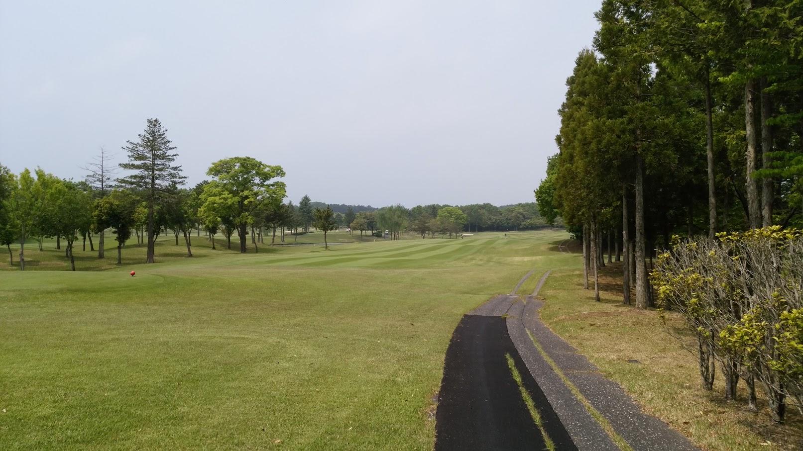 久しぶりのゴルフへ。_f0039907_15553714.jpg