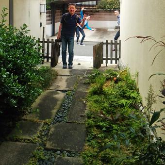 白井 晟一作の杉浦邸を見学できました。_c0195909_10461986.jpg
