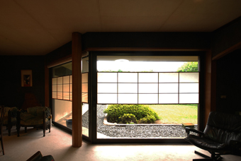 白井 晟一作の杉浦邸を見学できました。_c0195909_10462444.jpg