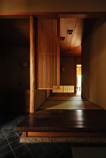 白井 晟一作の杉浦邸を見学できました。_c0195909_1047172.jpg