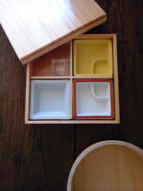 松花堂弁当箱と半切り_b0204930_18174774.jpg