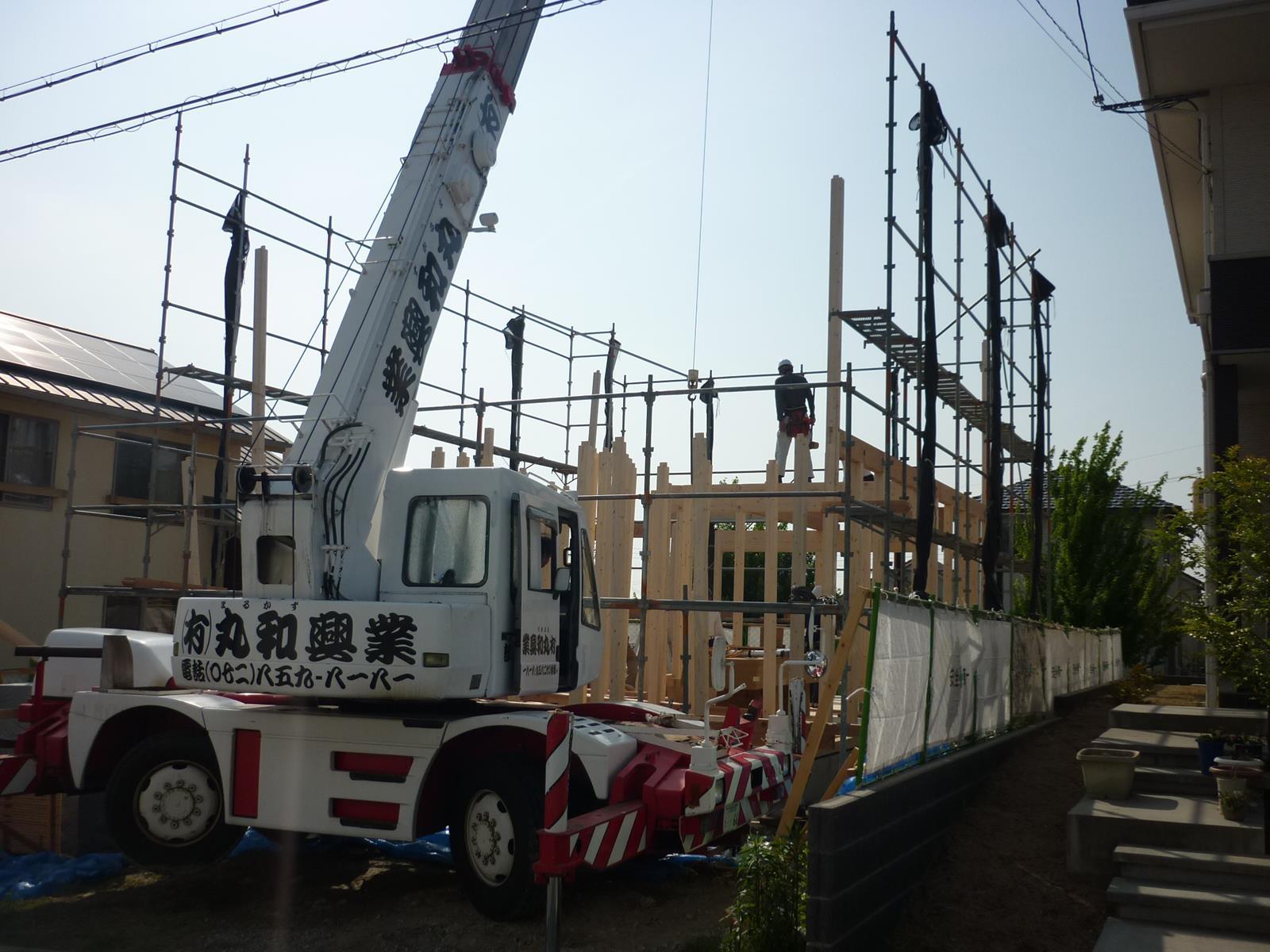 I 様邸の新築工事_d0323579_15414639.jpg