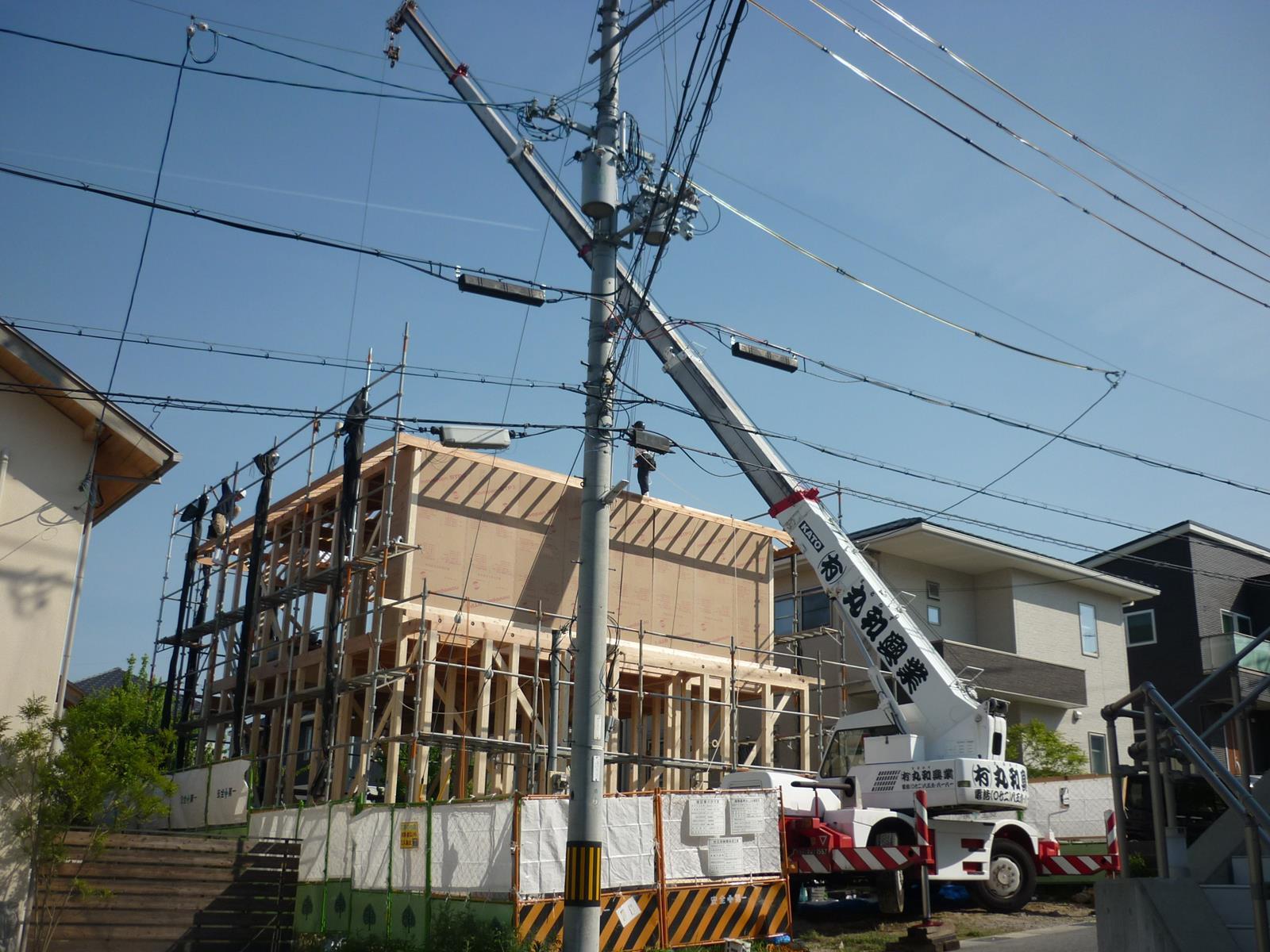 I 様邸の新築工事_d0323579_15434287.jpg