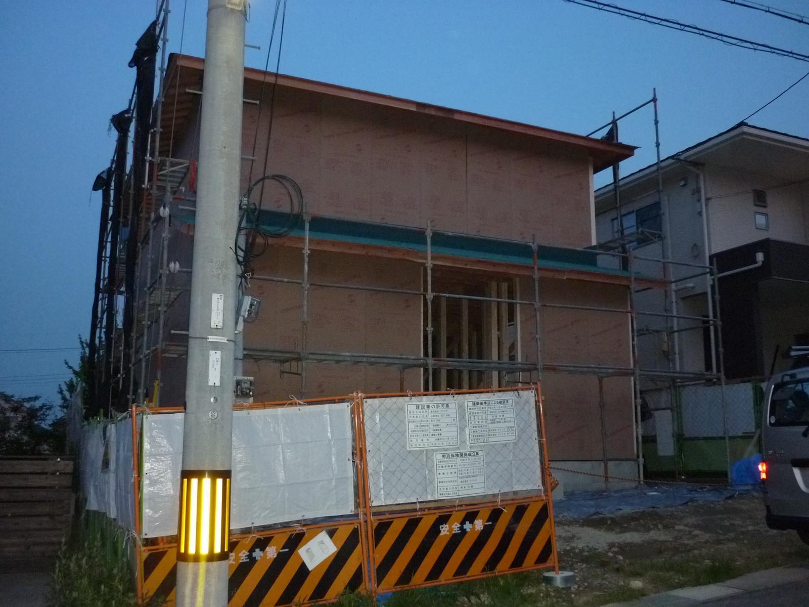 I 様邸の新築工事_d0323579_15445589.jpg