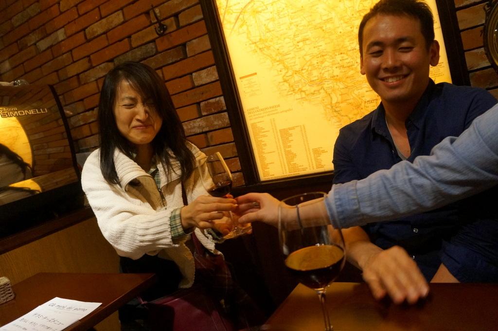 横浜レンガ倉庫、春のビール祭りにて。_c0180686_23483452.jpg
