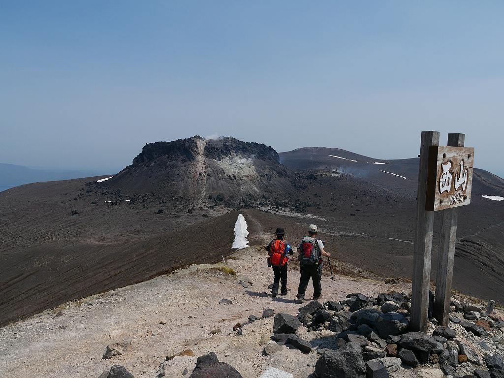 樽前山、5月18日-速報版-_f0138096_165353.jpg