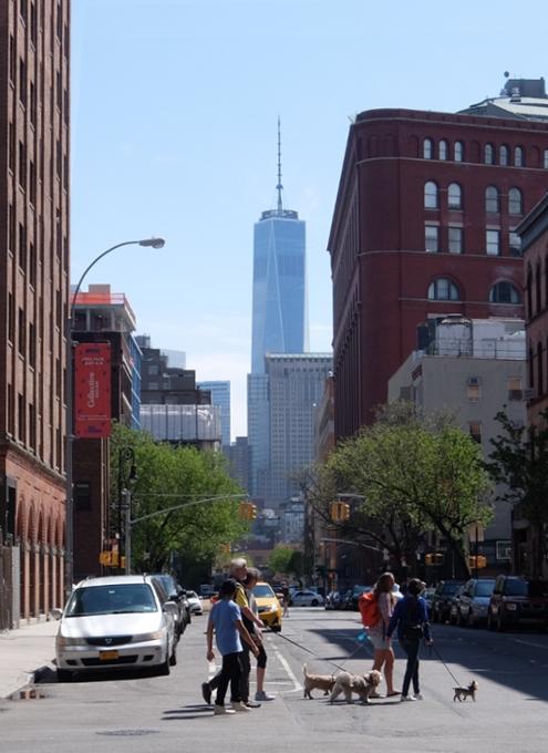 NYダウンタウンのグリニッジ・ストリート沿いをブラブラお散歩_b0007805_23325899.jpg