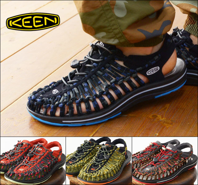 KEEN [キーン] MEN UNEEK STRIPES [1014617/1014618/1014619/1014620]MEN\'S_f0051306_20074875.jpg