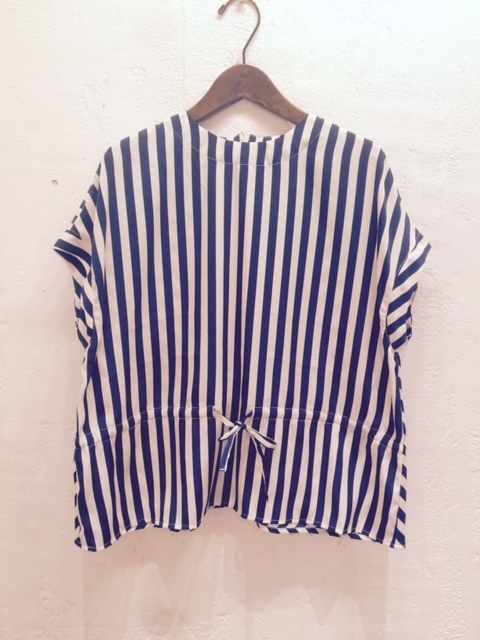 GRANDMA MAMA DAUGHTER PE100% Stripe shirt_a0222424_16001026.jpg