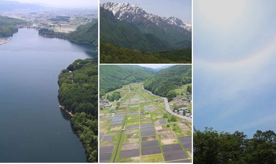 木崎湖と田んぼと北アルプス_a0212730_1928583.jpg