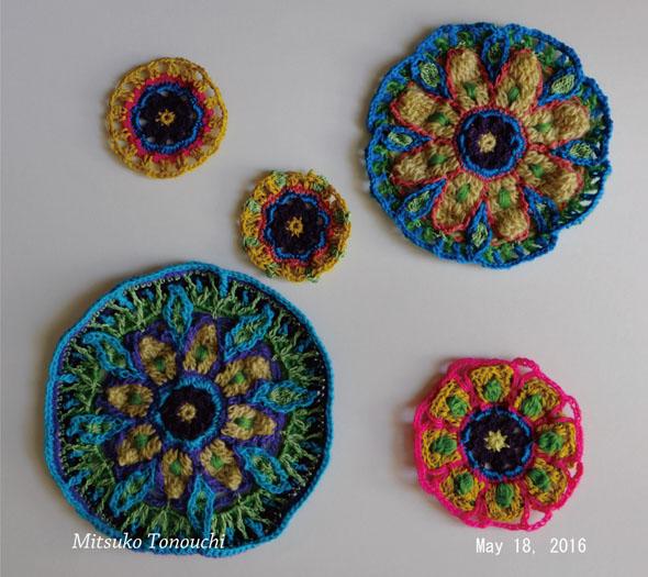 曼陀羅クロシェット     Mandala crochet_b0029036_20425056.jpg