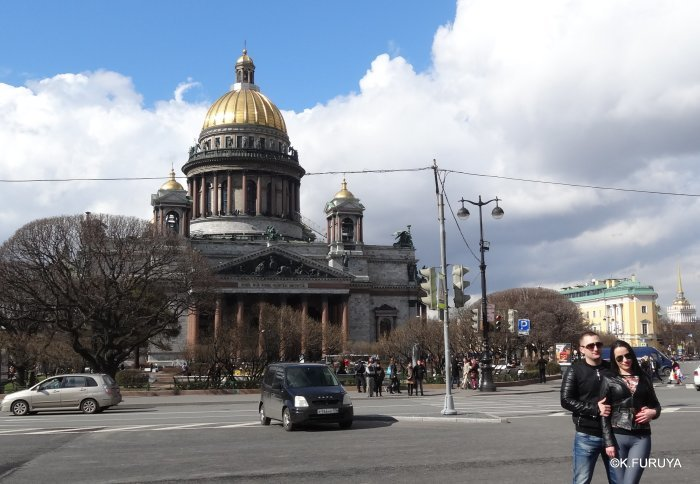 ロシアの旅 5 サンクトペテルブルク市内観光_a0092659_22475804.jpg