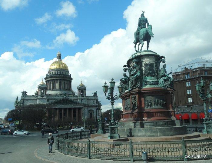ロシアの旅 5 サンクトペテルブルク市内観光_a0092659_22501974.jpg