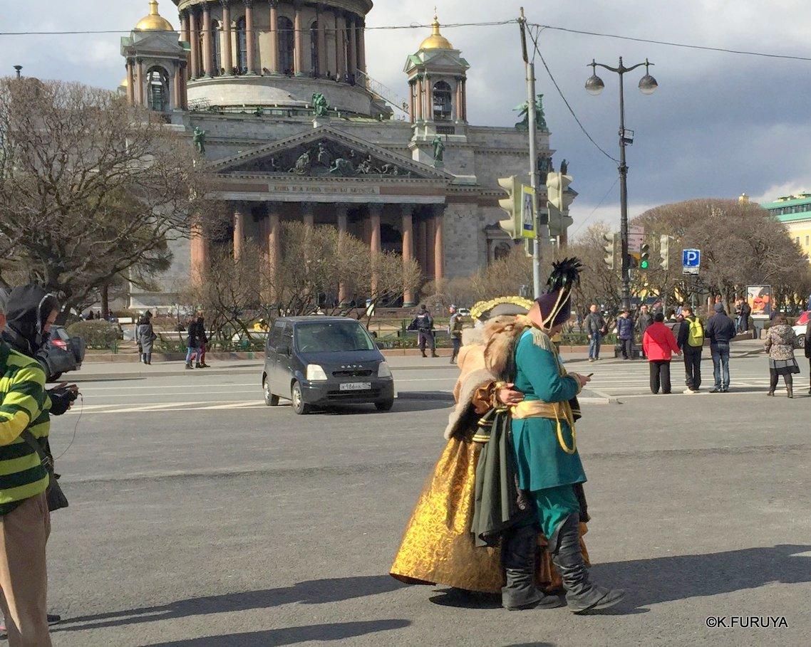 ロシアの旅 5 サンクトペテルブルク市内観光_a0092659_23213917.jpg