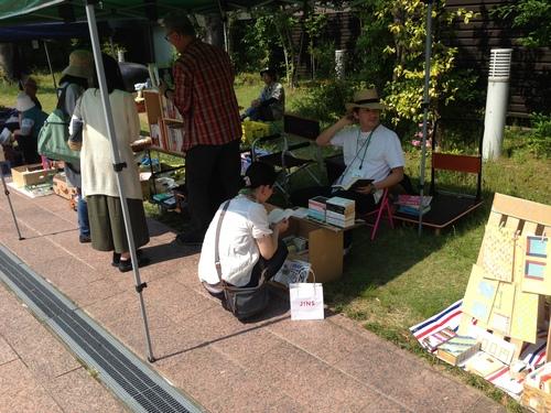 第40回 金沢一箱古本市@よこっちょ  の 様子_d0018868_0484467.jpg