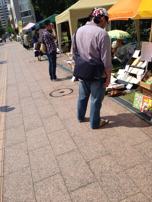第40回 金沢一箱古本市@よこっちょ  の 様子_d0018868_0492466.jpg