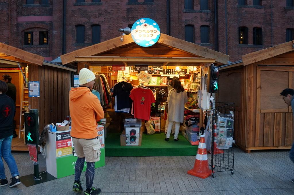 横浜レンガ倉庫、春のビール祭りにて。_c0180686_01540590.jpg